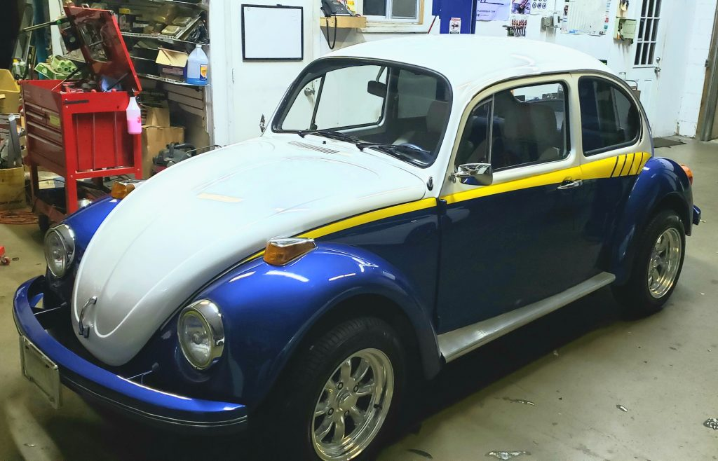 1973 Volkswagen Beetle Makeover At Highend Car Stereo Performance High End Stereos South Jersey